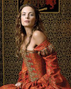 Gabrielle Anwar as Princess Margaret in The Tudors.