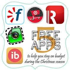 Holiday Shopping on a Budget: Apps | A Bowl Full of Lemons