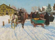 "Richard Lorenz, ""Hales Corner Horse Market"""