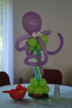 Under the Sea centerpiece