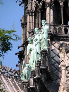 Notre Dame Cathedral , Paris