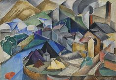 MARIE VASSILIEFF Spanish Landscape, ca. 1913 Oil on canvas