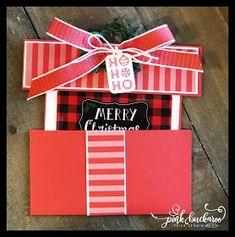 Pink Buckaroo Designs: Tags and Tidings . Gift Cards Money, Itunes Gift Cards, Free Gift Cards, Gift Tags, 3d Christmas, Christmas Cards, Gift Card Presentation, Christmas Gift Card Holders, Gift Card Giveaway
