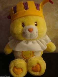 Care Bear 2004 King Funshine Plush