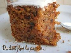 Carrot cake recipe: the best re . - Christmas carrot cake and its cream cheese frosting: For the frosting: 50 g of very soft butter (bu - Sweet Recipes, Cake Recipes, Dessert Recipes, Frosting Recipes, Cheese Recipes, Chicken Recipes, Vegan Recipes, Dinner Recipes, Molasses Cake