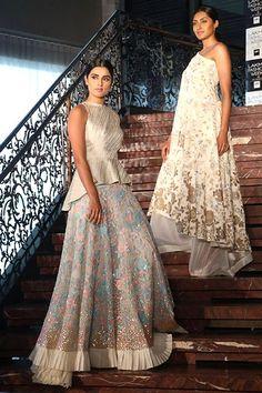 1d17cb8fc2d Manish Malhotras Lakme Fashion Week summer resort 2016 from Vogue India ·  Indian OutfitsIndian Wedding ...