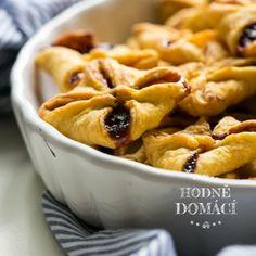 Mrkvové šátečky s povidly   Hodně domácí Apple Pie, Macaroni And Cheese, Waffles, Goodies, Food And Drink, Baking, Breakfast, Cake, Fit