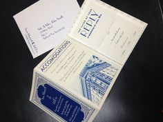 Art Deco wedding invitations : lot of ideas, but ours will be red !