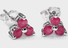 The Luxury Sterling Silver Jewelry Collection Women's 1.00 cts Genuine Ruby .925 Stud Earrings 1. The finest 925 sterling silver rhodium-plated jewellery - a durable finish 2. Gifts for occasions: souvenir, wedding, christmas 3. We only use 100% natural, genuine gemstones 4. Each piece is 925 hallmark 5. Gem type: Ruby #GenuineRuby #weddingearrings #Giftsforoccasions #luxurysilverearrings #rubyearringssterlingsilver #rubyearringsforgirls #rubyearringsforwomen #dangleearrings #studearrings…