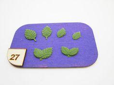 Miniature leaf n.1 silicone mold