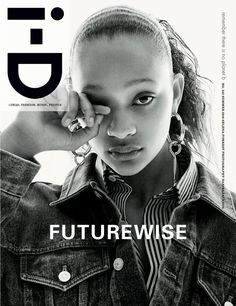 """i-D Magazine issue 342 """"The New Luxury"""" Selena Forrest Cover."""