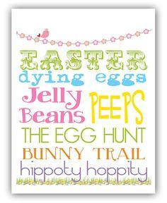 Free Easter Printable from @Matt Valk Chuah Polka Dot Press!