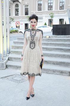 This is dress is absolutely stunning! Raisa & Vanessa dress / elbise Jimmy Choo pumps / ayakkabılar