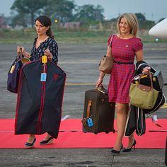 Kate Middleton's entourage pictured