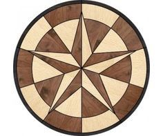 The above is a sample, this inlay can be made in any woods you like!