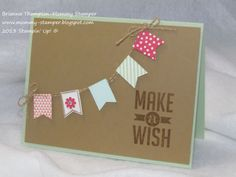 Sale-a-bration 2014, 2014 Occasions Catalog, Stampin' Up!, Perfect Pennants, Banner Blast, Banner Punch, www.mommy-stamper.blogspot.com