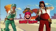 The Super Mario Bros. Super Show! | Know Your Meme  The Super Mario Bros. Super Show! was a sitcom starring Lou Albano and Danny Wells as Mario and Luigi from the Super Mario Brothers Nintendo franchise. After opening live-action segments, the characters would go to the Mushroom Kingdom in animated segments. After a brief run in 1989, the show has survived in online notoriety through a variety of memes.  Read more at KnowYourMeme.com