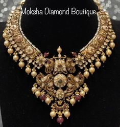Gold Jewelry, Jewellery, Neck Piece, Antique Gold, Pearl Necklace, Jewels, Diamond, Antiques, Earrings