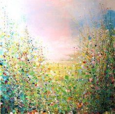 """Saatchi Online Artist Sandy Dooley; Painting, """"Sorbet Summer"""" #art."""