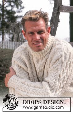 Knitted Coat Pattern, Sweater Knitting Patterns, Coat Patterns, Drops Design, Fisher, Knitting Stiches, Free Knitting, Fancy, Couture