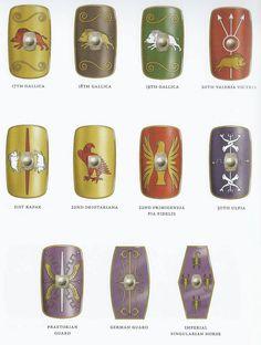 Shields Roman Shield, Roman Armor, Roman History, European History, American History, Ancient Rome, Ancient History, Ancient Aliens, Ancient Greece