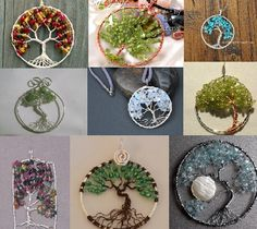 pockets of happiness: Tree of Life Pendant