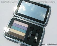 Lise Watier Tropical and Paradis Eye Shadow Palettes for Summer 2012 ~ Swatches, Pics, Review |Perilously Pale