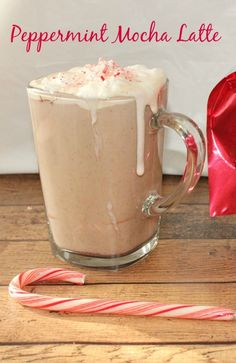 Peppermint Mocha Latte Recipe sponsored by @Netflix