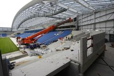 Twitter / BHASnappy: #EXTRASEATS‬ The south east corner starting to take shape ‪#BHAFC‬