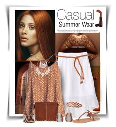 """""""Casual Summer Wear"""" by diva1023 ❤ liked on Polyvore featuring Ellis Faas, Amy Byer, Sans Souci, Qupid, River Island, Jamie Joseph, Dorothy Perkins, L. Erickson and Fashion Fair"""