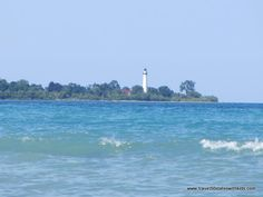 Wind Point Lighthouse From North Beach Racine A Short Trolley Ride Away The Radisson