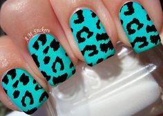 Disney Nail Designs, Acrylic Nail Designs, Nail Art Designs, Cheetah Nail Designs, Animal Nail Designs, Nails Design, Leopard Nail Art, Leopard Print Nails, Summer Acrylic Nails
