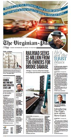 The Virginian-Pilot's front page for Friday, May 22, 2015.