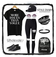 """Cool Girl"" by lee77 ❤ liked on Polyvore featuring Monki"