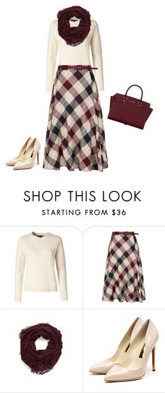"""""""Vintage"""" by adriannegaliher ❤ liked on Polyvore featuring Tommy Hilfiger, CC, Leith, Rupert Sanderson, MICHAEL Michael Kors and vintage"""