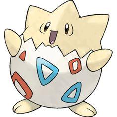 ♕✨ <3--->... Togepi (Pokémon) http://bulbapedia.bulbagarden.net/wiki/Togepi_(Pok%C3%A9mon)