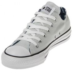 5a4945f4a501 The Converse Chuck Taylor Striped Light Blue Low Tops are a cool twist on a  classic. This shoe has a white and blue striped canvas upper