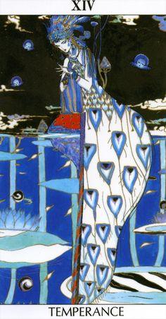 Temperance Tarot Card XIV - Yoshitaka Amano.