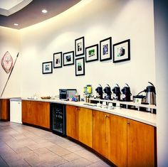 Our Gourmet Coffee and Beverage Bar is always well stocked and completely complimentary for our customers at Land Rover Orlando.  #LandRover #LandRoverOrlando #Orlando #Florida #coffeebar #lounge #customerlounge #luxury #dealership #amenities #LandRover #Orlando #LandRoverOrlando #Instagram