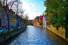 Brugge Canal by Pinzariu on 500px