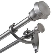 hammered ballthe finial company custom curtain rods : sold as