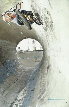 riding the tube #bmx