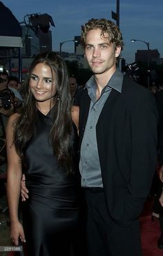 Paul and Jordana Fast And Furious Actors, The Furious, Paul Walker Pictures, Dominic Toretto, Movie Co, Rip Paul Walker, Hot Actors, Celebrity Couples, Ibiza Outfits