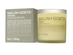Malin+Goetz: Vetiver