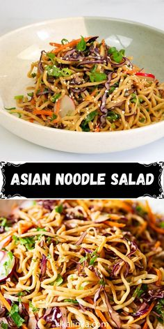 Best Salad Recipes, Salad Dressing Recipes, Meat Recipes, Mexican Food Recipes, Cooking Recipes, Healthy Recipes, Asian Noodle Recipes, Asian Recipes, Cookout Side Dishes