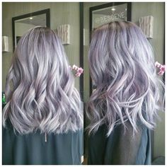 Lilac and silver hair                                                                                                                                                                                 More