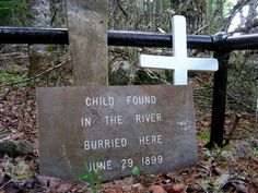 Unknown Child's Grave 1899