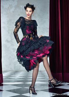 Dolce & Gabbana весна-лето 2017 (Lookbook) — яркая радость жизни в стиле Dolce vita
