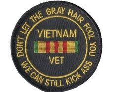 Vietnam Veteran Patch Collectible Iron-On High Quality Stitching Vietnam War Photos, Vietnam Veterans, Vietnam Map, Vietnam History, Military Veterans, Veterans Memorial, Military Service, Military Life, My War