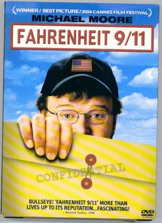 Michael Moore's FAHRENHEIT 911 Documentary DVD Free S/H USA!